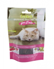 Лакомство для кошек TitBit вяленое Кусочки из сердца говяжьего