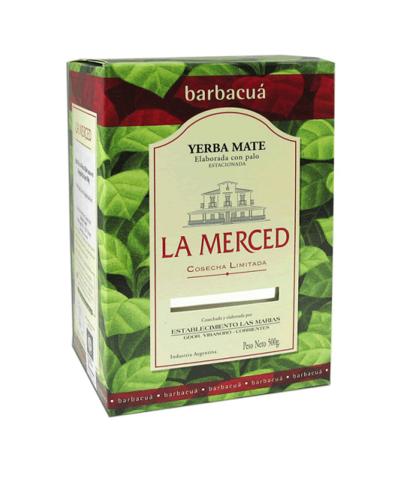 Чай травяной Йерба мате La Merced Barbacua продымленный, 500 г