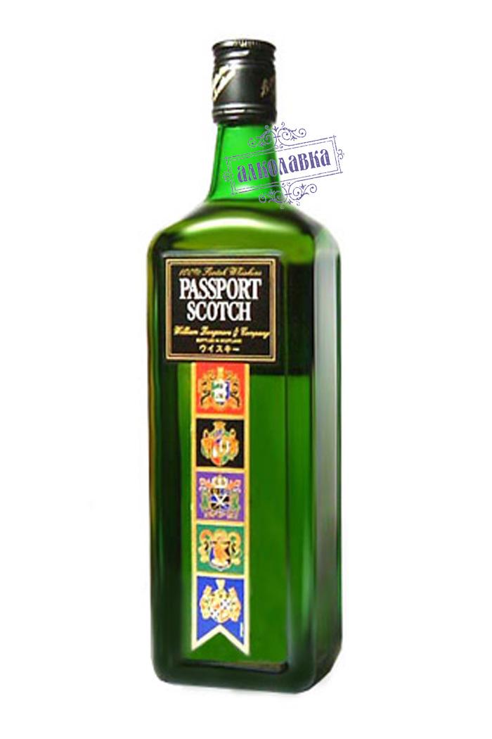 ПАССПОРТ СКОТЧ. ШОТЛАНДСКИЙ ВИСКИ. 0,5 Л