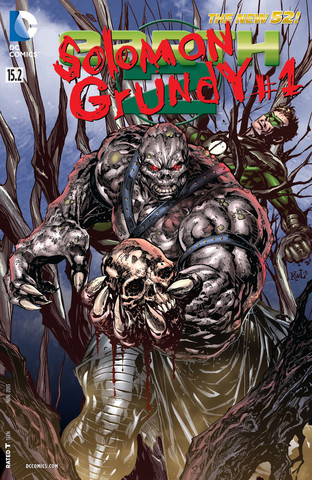 Earth 2 #15.2: Solomon Grundy Lenticular Cover
