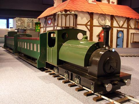Garden Rail  Паровоз Steam Outline  на колею 17,8 см, электрический