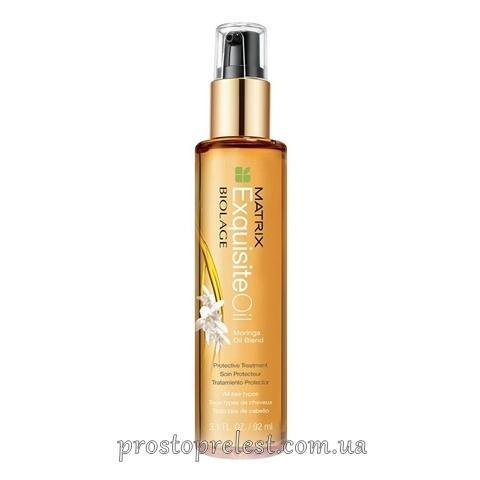 Matrix Biolage Exquisite Oil Moringa Treatment - Масло для питания волос
