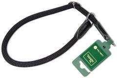 Ошейник-удавка для собак Hunter Freestyle 60/10 нейлоновая стропа черная