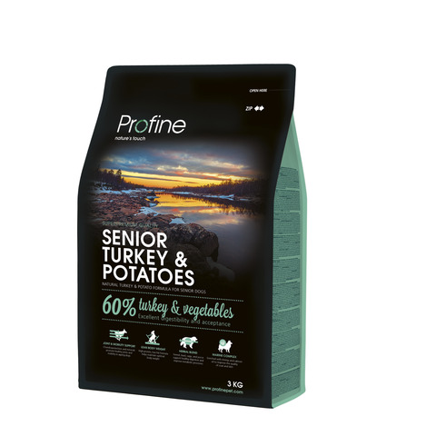 Profine Senior Turkey and Potatos 3 kg