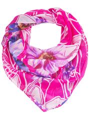 KC392-36-3 платок, розовый