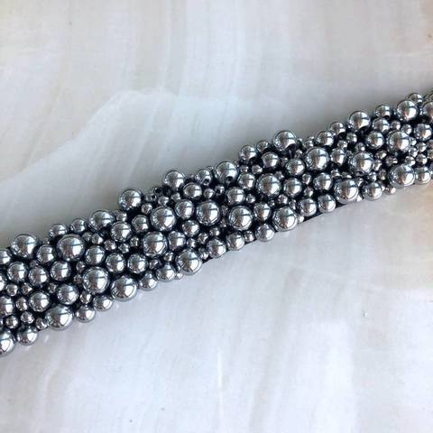 Колье Джоана, серебряный цвет