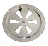 Крышка вентиляции с заслонкой 127 мм