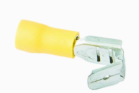 Разъем плоский изолированный ответвительный РпИо 6,0-7-0,8 желтый (100 шт) TDM