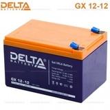 Аккумулятор DELTA GX 12-12 ( 12V 12Ah / 12В 12Ач ) - фотография