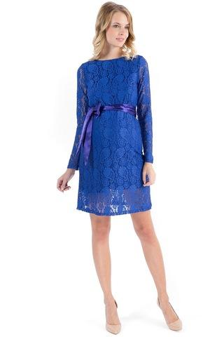 Платье 03729 васильковый