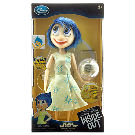 Inside Out — Deluxe  Talking Doll 10'' Joy