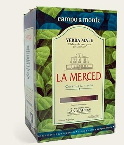 Чай травяной Йерба мате  La Merced  Campo & Monte, Микс 500 г