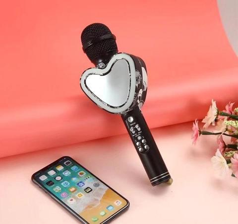 Микрофон караоке Q5 Bluetooth беспроводной портативный
