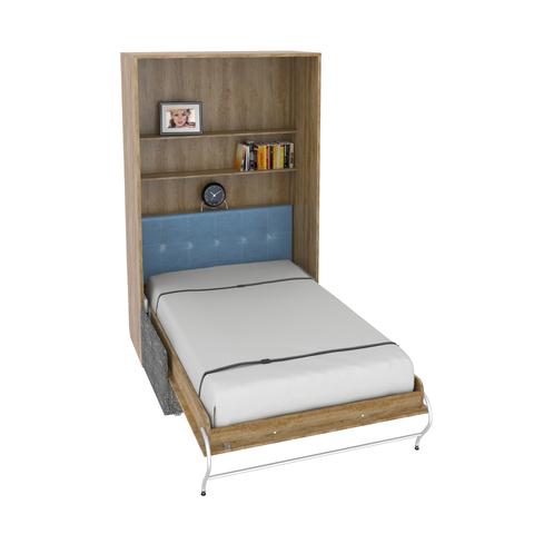 Шкаф-кровать с софой вертикальная полутороспальная 120 см