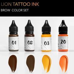Бровный сет Lion Tattoo Pigment