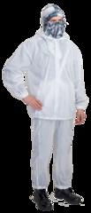 Костюм маскировочный Метелица / трикотажное полотно (нейлон) / белый
