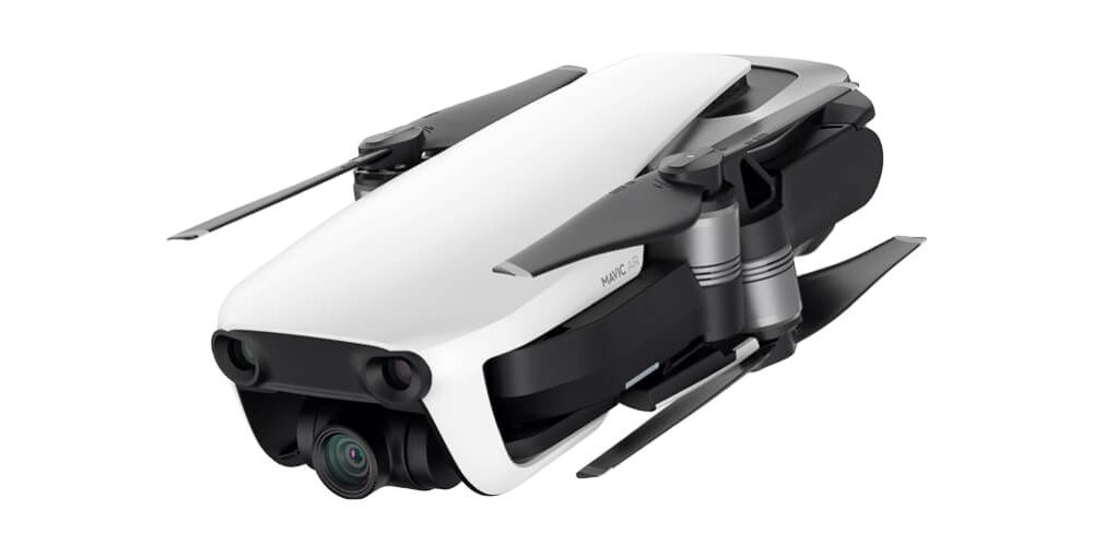 Квадрокоптер DJI MAVIC AIR Fly More Combo (EU) Arctic White, Белый сложен