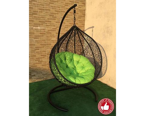 Плетеное кресло Арриба черное