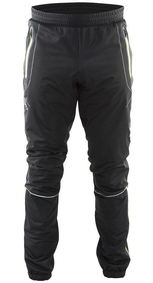 Мужские профессиональные лыжные брюки Craft High Function (1902270-9851) фото черный