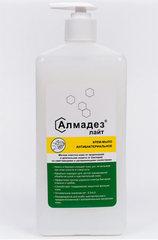 Антибактериальное мыло Алмадез-лайт, 1 л., насос-дозатор (Антибактериальное крем мыло) Алмадез-лайт-1л-с-дозатором.jpg