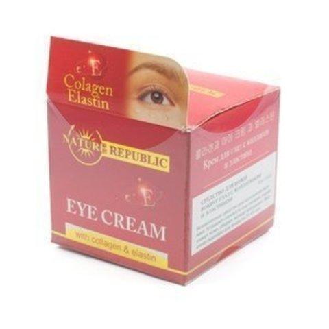 Крем для кожи вокруг глаз с коллагеном и эластином, 15 мл
