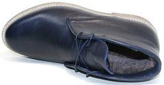 Зимние ботинки мужские кожаные Ikoc 004-9 S