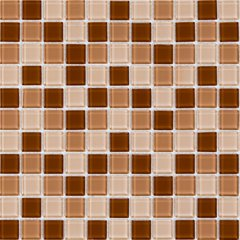 Mozaico De Lux K-MOS K4015 (23x23) BROWN MIX 324517