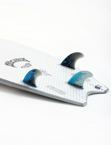 Плавники FCS PC-5 Blue Smoke Tri Retail Fins, компл. из трех, M