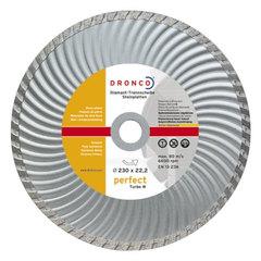 Алмазный диск Dronco PERFECT TURBO W 230 мм