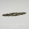 Филигрань 38х15 мм (цвет - античная бронза)