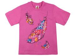 937-4 футболка детская, розовая