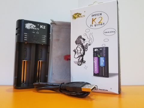 Зарядное устройство IMREN K2 на 2слота USB