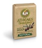 Натуральное оливковое мыло ATHENA'S TREASURES 100 г