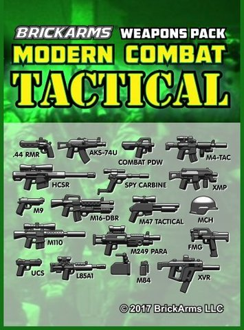 Набор оружия Modern Combat Tactical Weapons pack