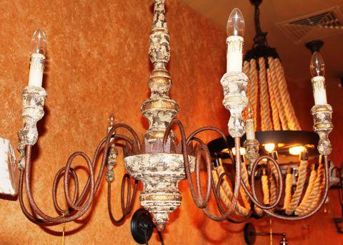 vintage chandelier 50-60 ( by Funky Vintage )