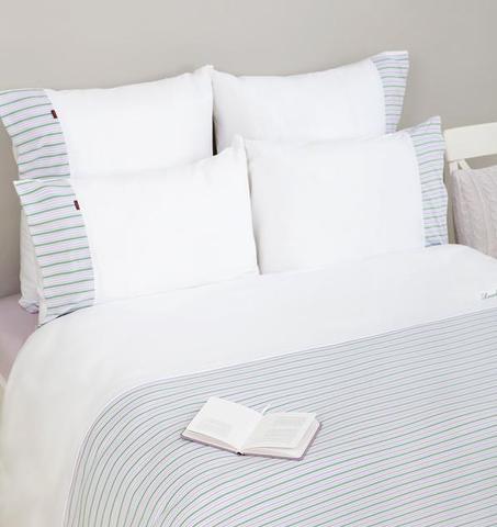 Постельное белье 2 спальное евро Luxberry Трикотаж Джерси зеленое