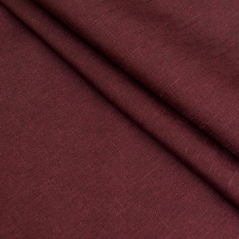 Ткань блэкаут Калипсо бордовый