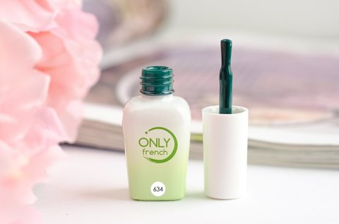 Гель-лак Only French, Green Touch №634, 7ml