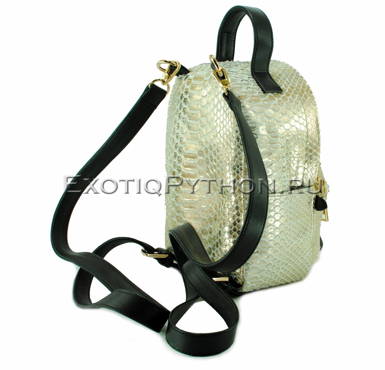 Рюкзак из кожи питона BG-274