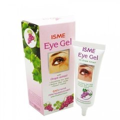Isme Гель для кожи вокруг глаз c виноградной косточкой Eye Gel Grape Extract, 10 мл