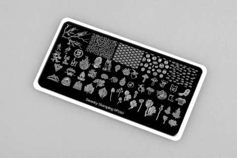 Пластина Swanky Stamping 010