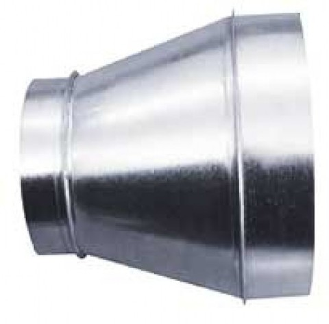 переход 100/200 оцинкованная сталь-