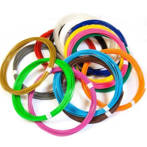 Набор Пластика(PLA) для 3Д Ручки 10 цветов.