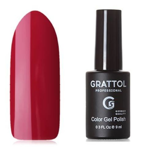 Grattol, Гель-лак Classic Collection №082, Cherry Red 53453