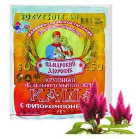 Каша Самарский Здоровяк №91 Пшеничная с амарантом
