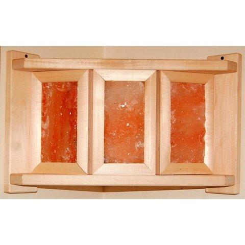 Абажур угловой с гим.солью 3 плитки DW АП-3П