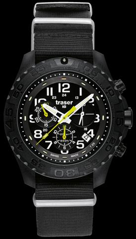 Купить Наручные часы Traser Outdoor Pioneer Chronograph 102908 (нато) по доступной цене
