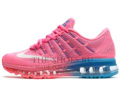 Кроссовки Женские Nike Air Max 2016 Pink Blue