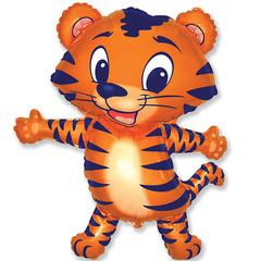 F Мини фигура Тигрёнок (синий) / Tiger cub (14
