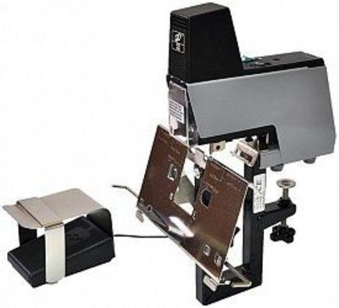 Электрический степлер Grafalex 106 — настольная профессиональная модель для использования в типографиях.